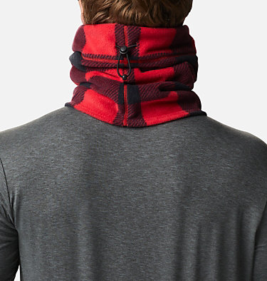 CSC™ II Omni-Heat™ Fleece Gaiter CSC™ II Fleece Gaiter | 191 | O/S, Mountain Red Check Print, back