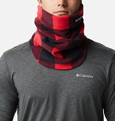 CSC™ II Omni-Heat™ Fleece Gaiter CSC™ II Fleece Gaiter | 191 | O/S, Mountain Red Check Print, front