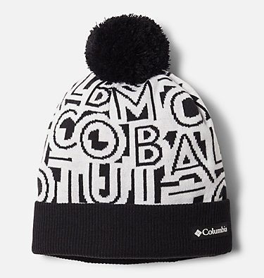 Polar Powder™ Beanie Polar Powder™ Beanie | 465 | O/S, Black Typo Print, front