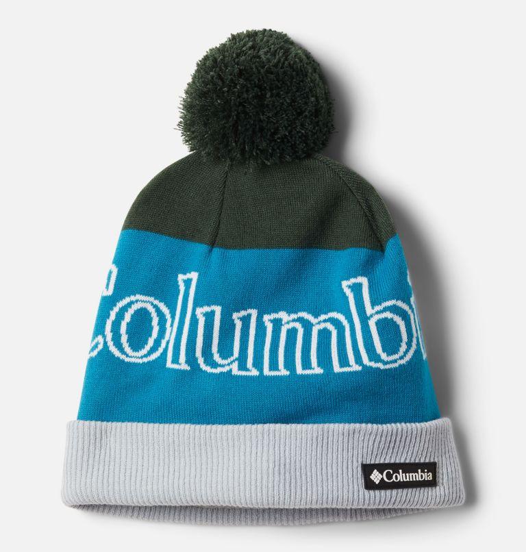 Polar Powder™ Beanie | 370 | O/S Polar Powder™ Beanie, Spruce, Fjord Blue, front