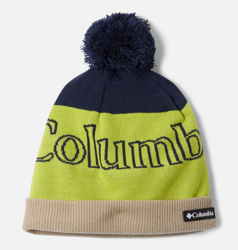 Polar Powder™ Beanie | 465 | O/S Polar Powder™ Beanie, Collegiate Navy, Chartreuse, front