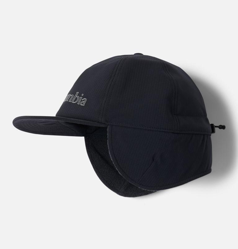 Adventure Hiking™ Earflap Cap | 010 | L/XL Adventure Hiking™ Earflap Cap, Black, front