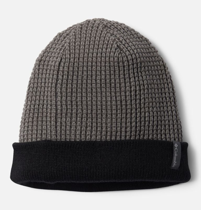 City Trek™ Reversible Beanie | 010 | O/S City Trek™ Reversible Beanie, Black, City Grey Heather, a1