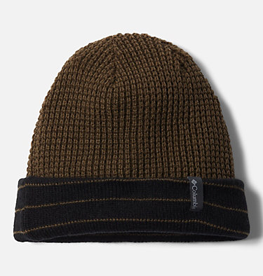 Tuque réversible City Trek™ City Trek™ Reversible Beanie | 010 | O/S, Black Stripe, Olive Green, a1