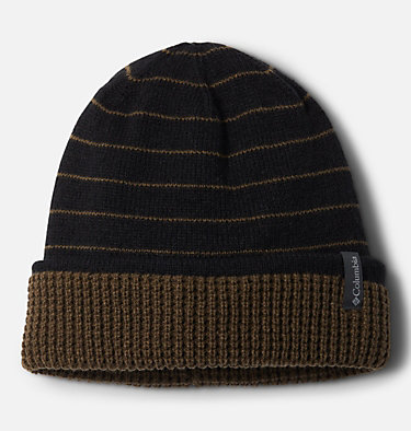 Tuque réversible City Trek™ City Trek™ Reversible Beanie | 010 | O/S, Black Stripe, Olive Green, front