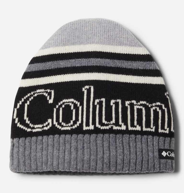Polar Powder™ Heavyweight Beanie | 010 | O/S Polar Powder™ Heavyweight Beanie, Black, City Grey, front