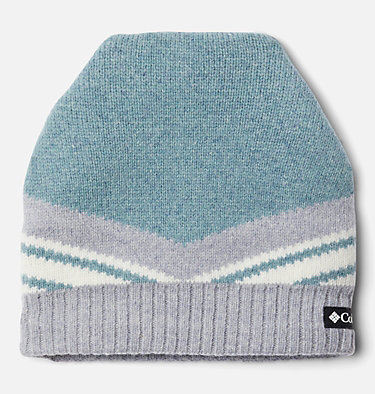 Polar Powder™ Heavyweight Beanie Polar Powder™ Heavyweight Beanie | 843 | O/S, Fjord Blue, Cirrus Grey, front
