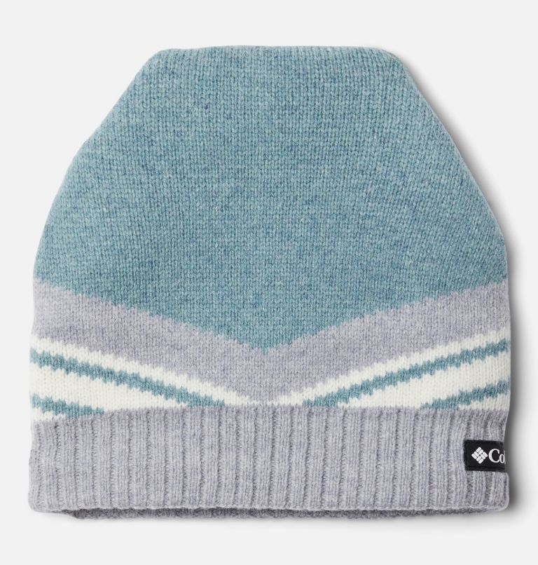 Polar Powder™ Heavyweight Beanie | 462 | O/S Polar Powder™ Heavyweight Beanie, Fjord Blue, Cirrus Grey, front