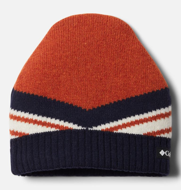 Polar Powder™ Heavyweight Beanie | 843 | O/S Polar Powder™ Heavyweight Beanie, Bold Orange, Dark Nocturnal, front