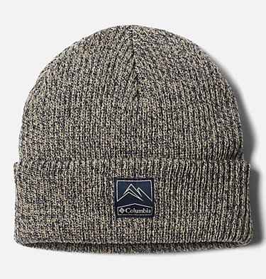 Whirlibird™ Cuffed Beanie Whirlibird™ Cuffed Beanie | 011 | O/S, Ancient Fossil, Collegiate Navy Marled, front