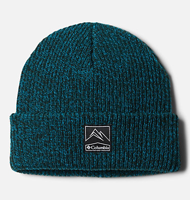 Unisex Whirlibird Cuffed Beanie Whirlibird™ Cuffed Beanie | 010 | O/S, Spruce, Fjord Blue Marled, front