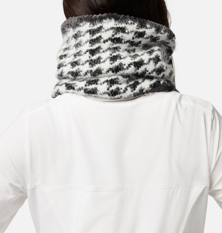 Winter Blur™ Plush Lined Gaiter | 010 | O/S Winter Blur™ Plush Lined Fleece Gaiter, Black Pattern, Shark, back