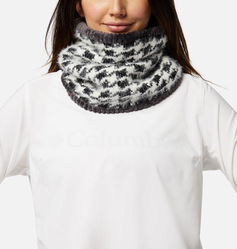 Winter Blur™ Plush Lined Gaiter | 010 | O/S Winter Blur™ Plush Lined Fleece Gaiter, Black Pattern, Shark, front
