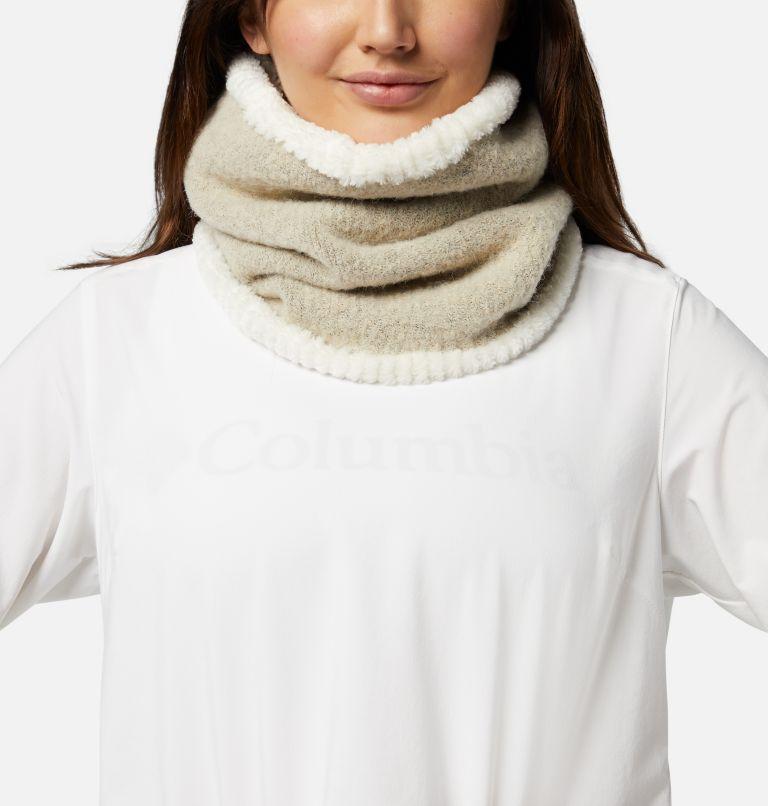 Winter Blur™ Plush Lined Gaiter | 191 | O/S Winter Blur™ Plush Lined Fleece Gaiter, Chalk, front