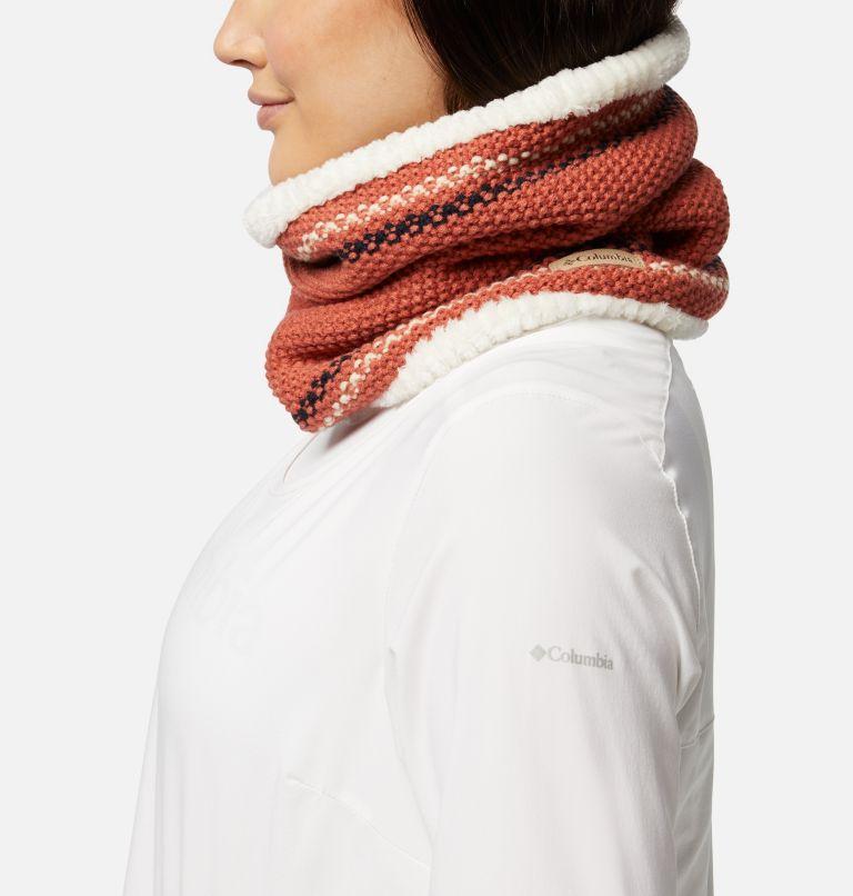 Winter Blur™ Plush Lined Gaiter | 604 | O/S Winter Blur™ Plush Lined Fleece Gaiter, Nova Pink, Chalk, Dark Nocturnal, a1