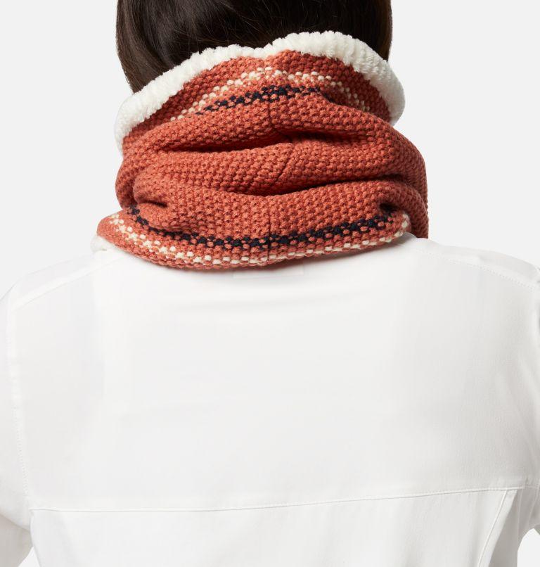 Winter Blur™ Plush Lined Gaiter | 604 | O/S Winter Blur™ Plush Lined Fleece Gaiter, Nova Pink, Chalk, Dark Nocturnal, back