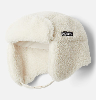 Kids' Frosty Trail™ Trapper Hat Frosty Trail™ Youth Trapper | 010 | L/XL, Chalk Sherpa, front