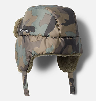 Kids' Frosty Trail™ Trapper Hat Frosty Trail™ Youth Trapper | 010 | L/XL, Cypress Trad Camo, Stone Green, back
