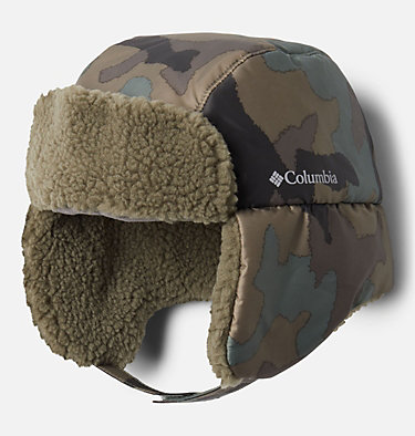 Kids' Frosty Trail™ Trapper Hat Frosty Trail™ Youth Trapper | 010 | L/XL, Cypress Trad Camo, Stone Green, front