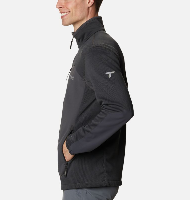 Powder Chute™ Fleece Jacket | 010 | L Powder Chute™ Fleece Jacket, Black, Shark, a1