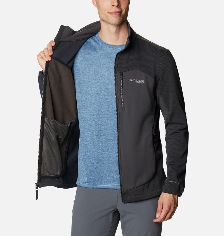 Powder Chute™ Fleece Jacket | 010 | XL Manteau en laine polaire Powder Chute™ pour homme, Black, Shark, a3