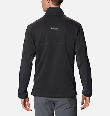 Men's Powder Chute™ Fleece Jacket Powder Chute™ Fleece Jacket | 010 | XL, Black, Shark, back