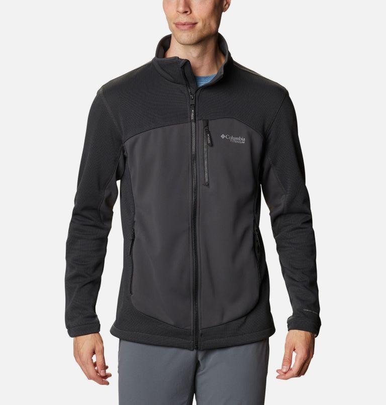 Powder Chute™ Fleece Jacket | 010 | XL Manteau en laine polaire Powder Chute™ pour homme, Black, Shark, front