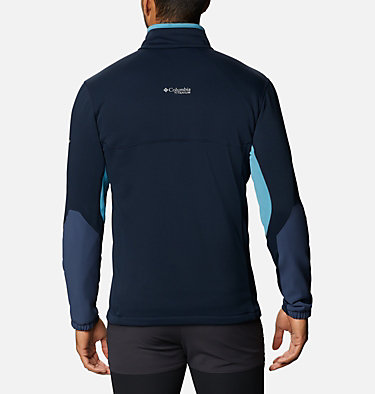 Men's Powder Chute™ Fleece Jacket Powder Chute™ Fleece Jacket | 010 | XL, Collegiate Navy, Canyon Blue, back