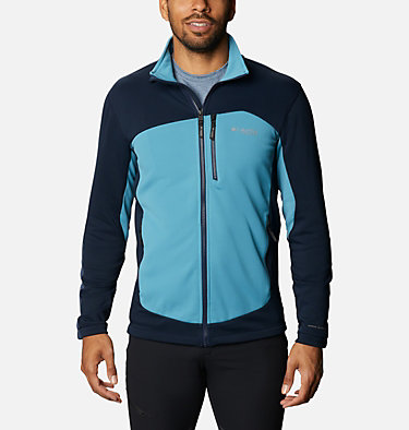 Men's Powder Chute™ Fleece Jacket Powder Chute™ Fleece Jacket | 010 | XL, Collegiate Navy, Canyon Blue, front