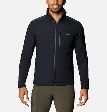 Men's Peak Pursuit Hybrid Midlayer Jacket M Peak Pursuit™ Midlayer Hybrid | 010 | XXL, Black, front