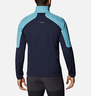 Men's Peak Pursuit Hybrid Midlayer Jacket M Peak Pursuit™ Midlayer Hybrid | 010 | XXL, Canyon Blue, Collegiate Navy, back