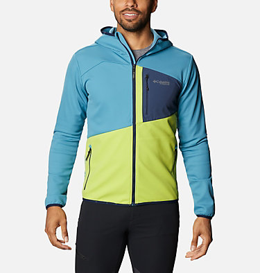 Hoodie Technique Peak Pursuit™ Homme M Peak Pursuit™ Tech Hoodie | 430 | XXL, Canyon Blue, Bright Chartreuse, Col Navy, front