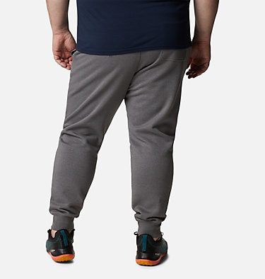 Men's CSC Logo™ Fleece Joggers II - Big M CSC Logo™ Fleece Jogger II | 010 | 3X, City Grey Heather, Columbia Grey, back