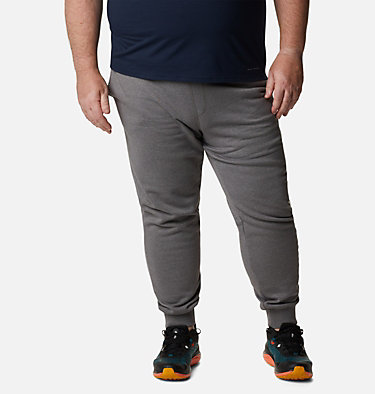 Men's CSC Logo™ Fleece Joggers II - Big M CSC Logo™ Fleece Jogger II | 010 | 3X, City Grey Heather, Columbia Grey, front