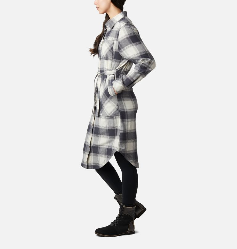 Pine Street™ Shirt Dress | 191 | S Women's Pine Street™ Shirt Dress, Chalk Buffalo Plaid, a1