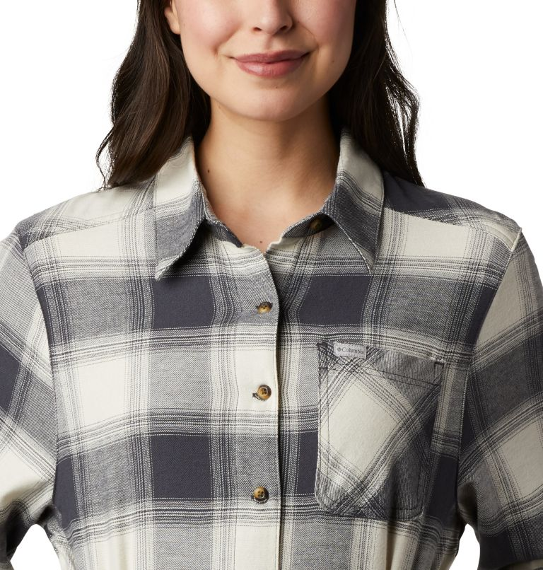 Pine Street™ Shirt Dress | 191 | S Women's Pine Street™ Shirt Dress, Chalk Buffalo Plaid, a2
