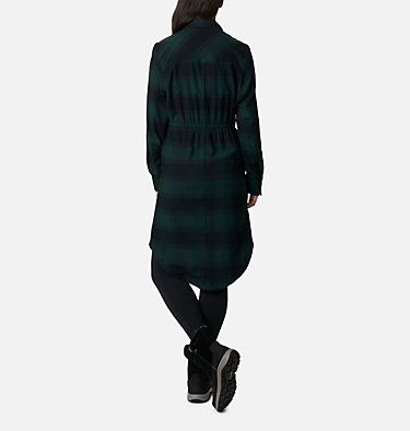 Women's Pine Street™ Shirt Dress Pine Street™ Shirt Dress | 286 | L, Spruce Buffalo Plaid, back