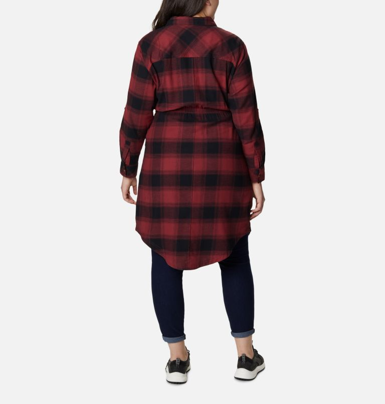Women's Pine Street™ Shirt Dress - Plus Size Women's Pine Street™ Shirt Dress - Plus Size, back