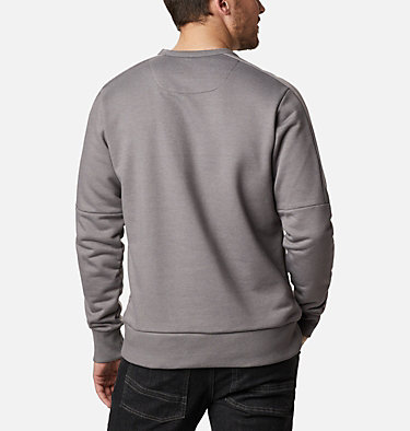 Men's Columbia Lodge™ Heavyweight Crew Columbia Lodge™ Heavyweight Crew | 023 | S, City Grey Heather, back