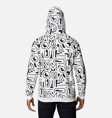 Men's Columbia Logo™ Printed Hoodie M Columbia Logo™ Printed Hoodie | 010 | M, Black, White Typo, back