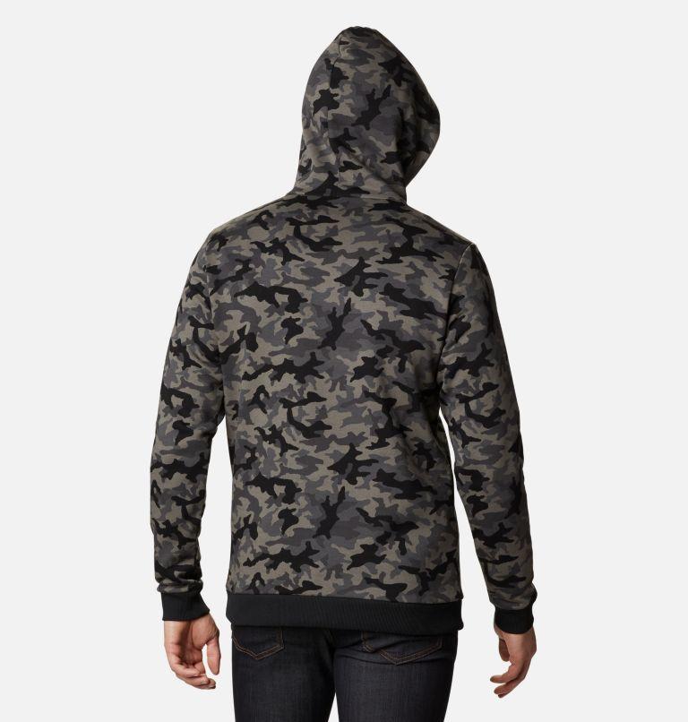 Sudadera con capucha con logotipo estampado de Columbia para hombre Sudadera con capucha con logotipo estampado de Columbia para hombre, back