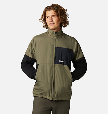 Men's Minam River™ Reversible Hybrid Jacket Minam River™ Reversible Hybrid Jacket | 010 | XXL, Stone Green, Black, front