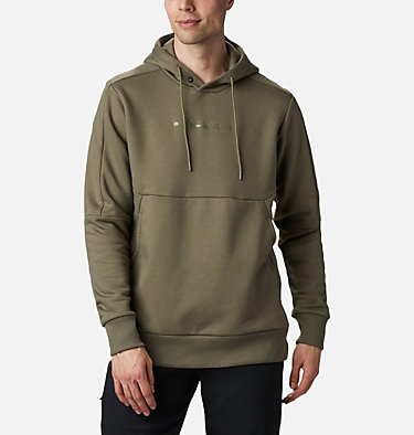 Men's Columbia Lodge™ Heavyweight Popover Hoodie Columbia Lodge™ Heavyweight Popover | 010 | M, Stone Green, front