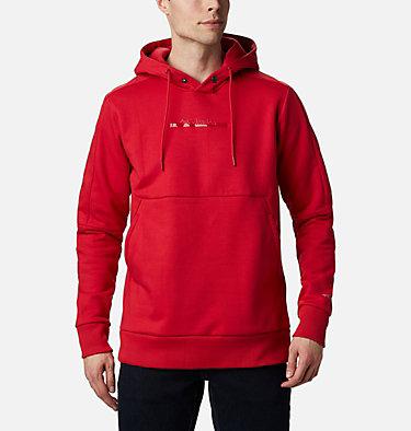 Chandail à capuchon épais à enfiler Columbia Lodge™ pour homme Columbia Lodge™ Heavyweight Popover | 010 | M, Mountain Red, front