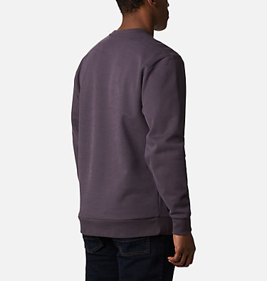 Men's Mountain View™ Logo Crew Omni-Heat™ Sweatshirt Mountain View™ Logo Crew | 511 | XXL, Dark Purple, Shale Purple Chenille, back