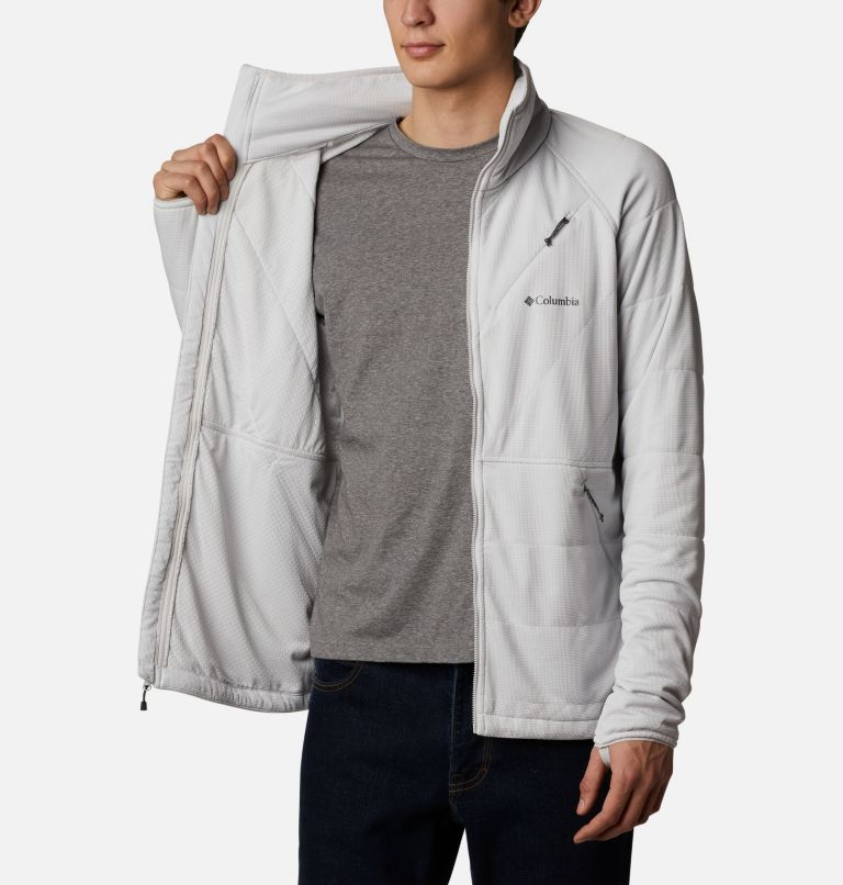 M Parkdale Point™ Full Zip | 043 | S Veste Parkdale Point™ homme, Nimbus Grey, a3