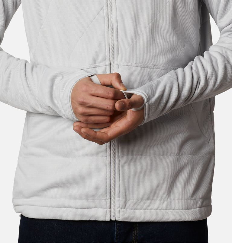 M Parkdale Point™ Full Zip | 043 | L Veste Parkdale Point™ homme, Nimbus Grey, a5
