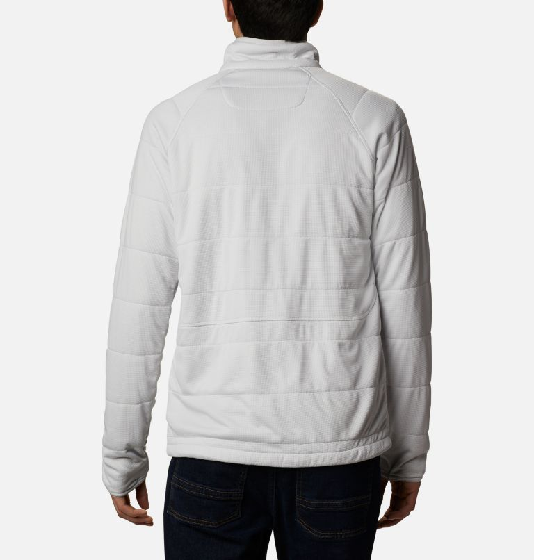 M Parkdale Point™ Full Zip | 043 | S Veste Parkdale Point™ homme, Nimbus Grey, back