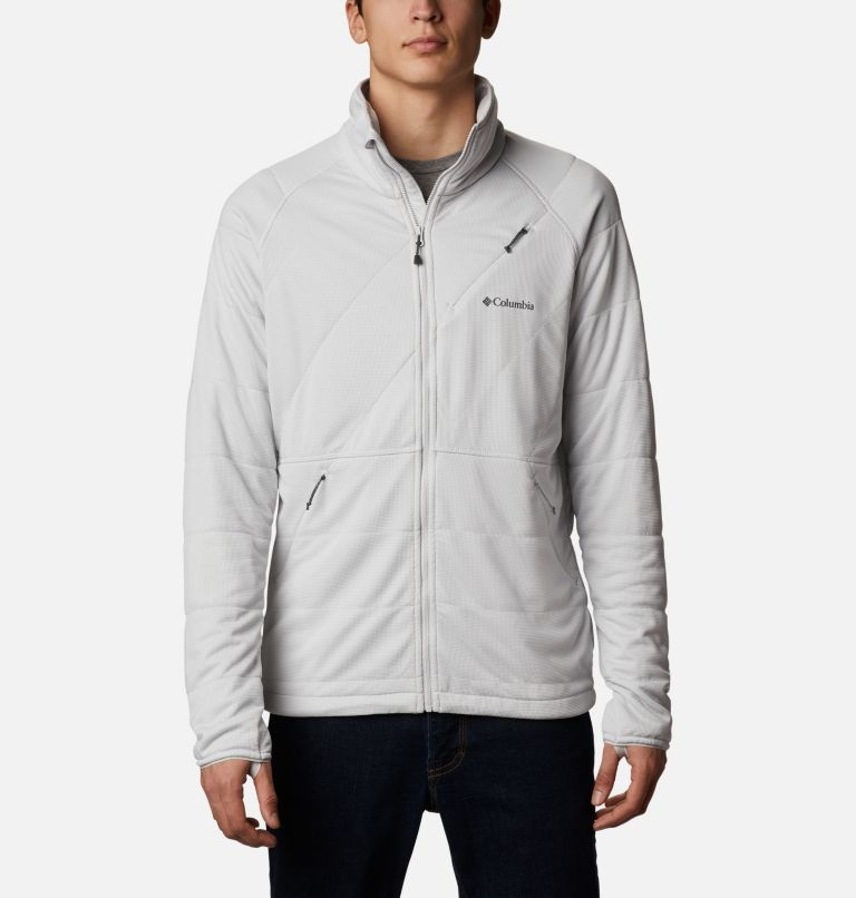M Parkdale Point™ Full Zip | 043 | L Veste Parkdale Point™ homme, Nimbus Grey, front
