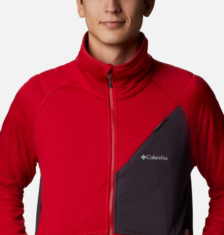 M Parkdale Point™ Full Zip | 613 | XL Men's Parkdale Point™ Full Zip Jacket, Mountain Red, a2